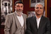 ببینید | اشک های علی انصاریان در برنامه مهران مدیری