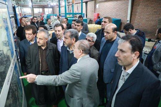 استاندار قزوین از سه واحد تولیدی بازدید کرد