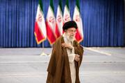 رهبر انقلاب رأی خود را به صندوق انداختند