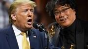 ترامپ به اسکار حمله کرد/ چرا به فیلمی از کرهجنوبی جایزه دادید؟
