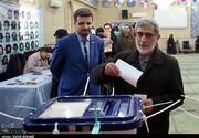 عکسی از حضور جانشین سردار سلیمانی پای صندوق رای /سردار قاآنی در انتخابات شرکت کرد