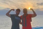 ببینید | عکسهای خانوادگی عابدزاده در جزیره پرایا فورموزا