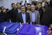 ببینید | شاهکار جدید محمود احمدینژاد : آموزش ساخت ماسک ضد کرونا ،پای صندوق رای !