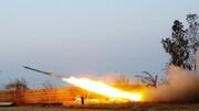 حمله راکتی به پایگاه آمریکا در موصل
