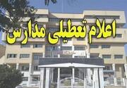 مدارس همه مقاطع شهر یزد تعطیل اعلام شد