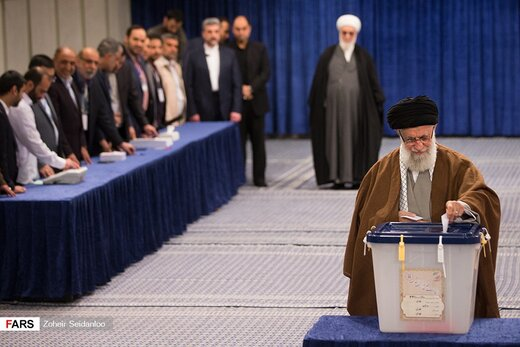 Iran's Supreme Leader casts his vote for parliamentary, Assembly of Experts elections