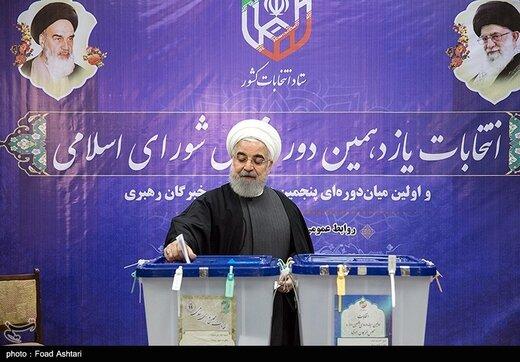 روحاني : اليوم يسجل الشعب انجازا آخر في مسيرة الثورة الاسلامية