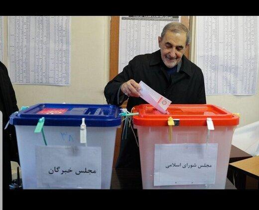 باسابقهترین امام جمعه رأی داد /داماد رئیسجمهور و ولایتی هم پای صندوق رأی آمدند +عکس