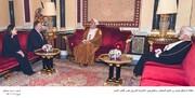 پمپئو، پیام ترامپ را تسلیم سلطان عمان کرد