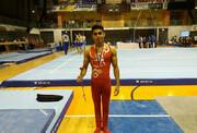 مدال نقره کهنی در جام جهانی ملبورن