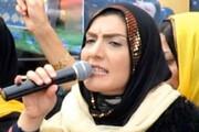 عکس | شیوا قاسمی پور اولین زن نماینده مجلس کردستان بعد انقلاب