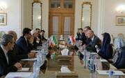 وزير الخارجية الهولندي يلتقي ظريف في طهران