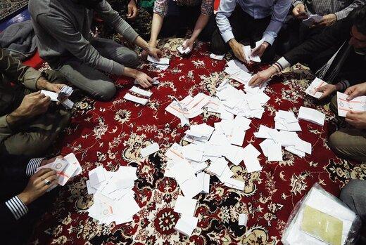 آخرین نتایج رسمی از انتخابات تهران تا ساعت ۱۸/ قالیباف، میرسلیم و آقاتهرانی در صدر
