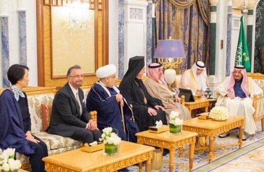 ذوق زدگی اسرائیل از دیدار ملک سلمان با خاخام یهودی