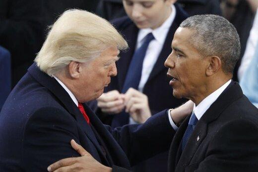 ترامپ خواستار استیضاح اوباما شد