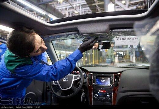 تولید خودرو ۱۹ درصد افت کرد