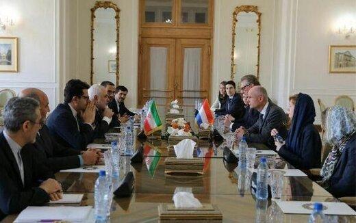 Dutch Foreign Minister meets Zarif