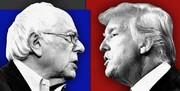 واکنش ترامپ به پیروزی سندرز در نوادا
