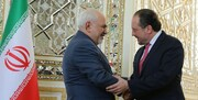 وزیر خارجه اتریش با ظریف دیدار کرد/عکس