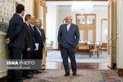 تصاویر | دیدار وزیر خارجه اتریش با محمد جواد ظریف