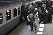 ضدعفونی قطارهای مسافری علیه کرونا