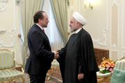 تصاویر | دیدار رئیس جمهور با وزیر امور خارجه اتریش