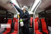 اتوبوسهای درونشهری هر روز ضدعفونی و شست و شو میشوند
