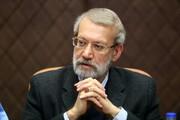 لاریجانی: اتحادیه اروپا درباره توافق هستهای فقط حرف میزند