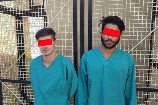 قاپزنهای اموال سرقتی تهران دستگیر شدند