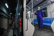 ببینید | اتوبوسهای شرکت واحد و واگنهای مترو ضدعفونی شدند