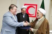 انعقاد تفاهم نامه دو سالانه نماز  در جمعیت هلال احمر خراسان رضوی