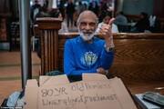 ببینید | تصاویری تکاندهنده از تلاش بیخانمانها برای جای خواب