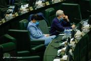 ببینید | کدام نمایندگان با ماسک و کدام بدون ماسک به مجلس رفتند؟