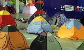 اماکن اسکان اضطراری دورود برای تخلیه شهروندان در معرض سیل
