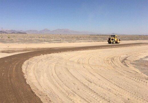 احداث ٢٢ کیلومتر راه روستایی در شهرستان سربیشه