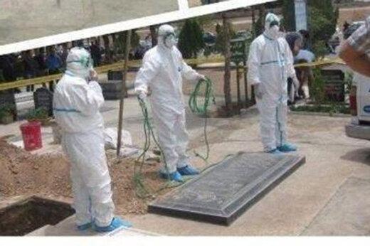 ببینید | پاسخ رسمی به ابهام درباره تشییع و دفن جان باختگان ویروس کرونا در ایران