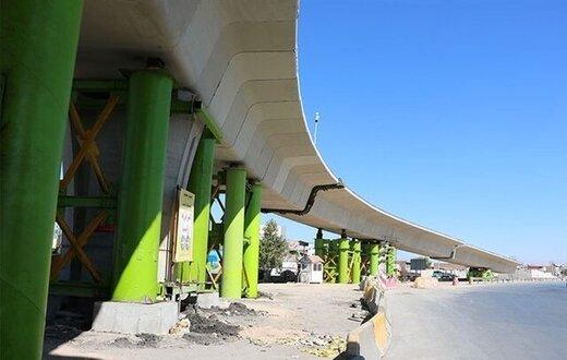 تقاطع غیرهمسطح شهید بادپا در کرمان بهرهبرداری شد