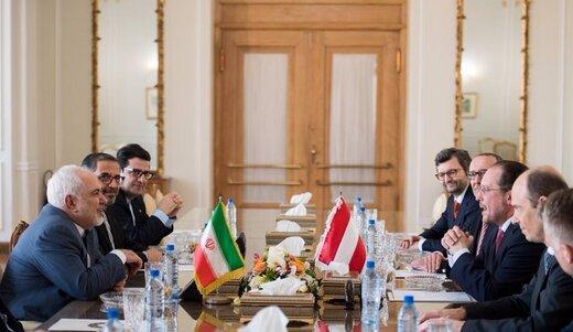 وزیر خارجه اتریش پس از دیدار با ظریف چه گفت؟