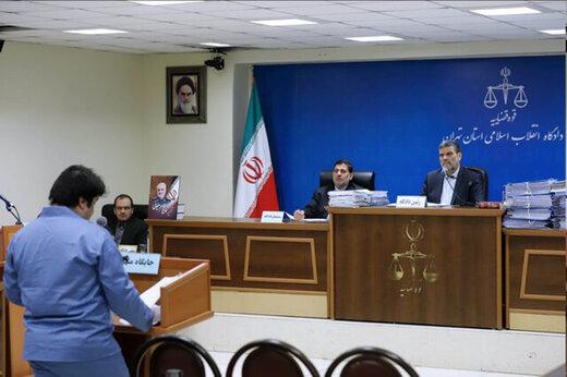 ببینید | جدیدترین دفاعیات و اعترافات روح الله زم در سومین دادگاه درباره دی ماه ۹۶