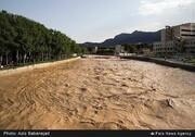 افزایش دبی رودخانه «خرم رود»