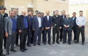بازدید فرمانده یگان حفاظت سازمان زندان ها از پروژه ندامتگاه جدید الاحداث سمنان