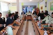 نشست تخصصی بررسی آخرین وضعیت یگان حفاظت زندانهای استان سمنان