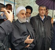Rouhani opens 1st section of Tehran-Shomal Freeway