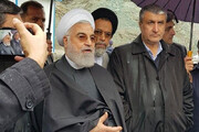 ببینید | تصاویر اینستاگرام رئیس جمهور از آزادراه تهران-شمال که پس از ۲۳ سال افتتاح شد