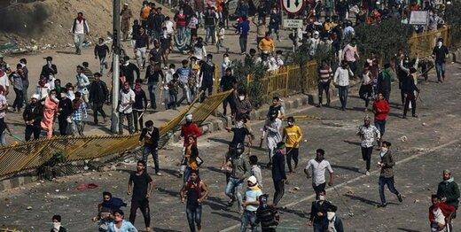 اعتراضات ضدترامپ در هند چند کشته برجای گذاشت