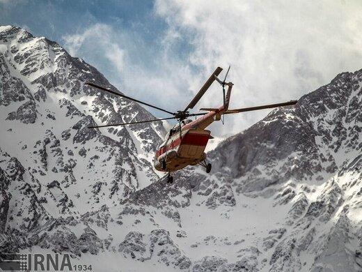 استقرار بالگرد در استان چهارمحال وبختیاری