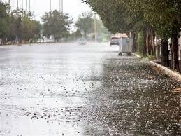 باران ۴۴ میلی متری در لالی