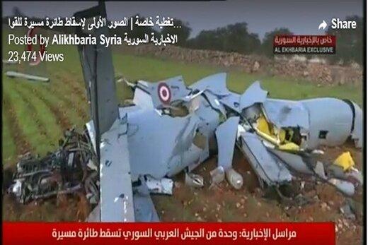 ارتش سوریه پهپاد ترکیه را سرنگون کرد