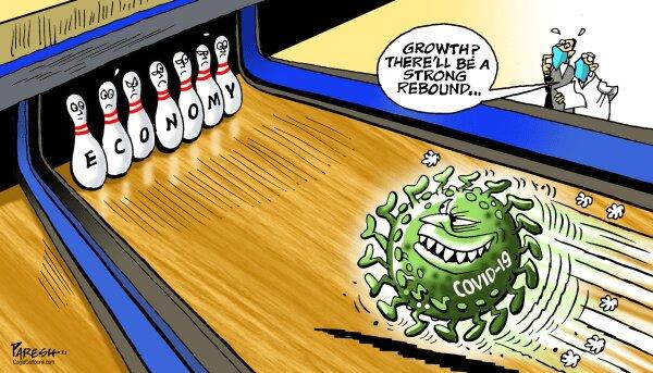 ببینید کرونا با اقتصاد جهان چه میکنه!