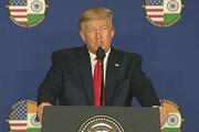 ترامپ از قدرت گرفتن طالبان خبر داد
